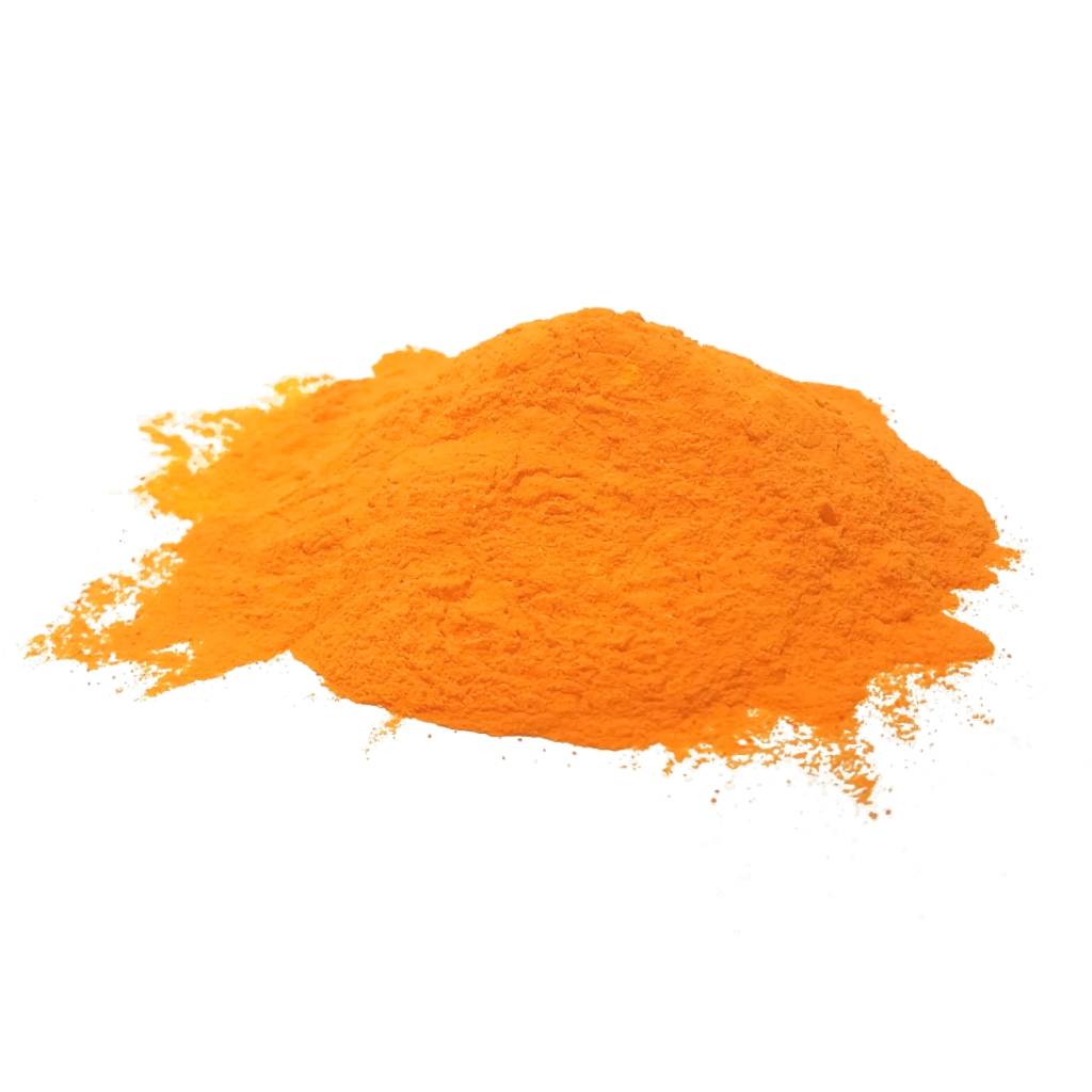 Bulk Orange Color Powder Photo