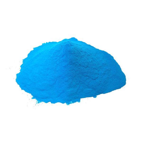 Bulk Blue Color Powder Photo