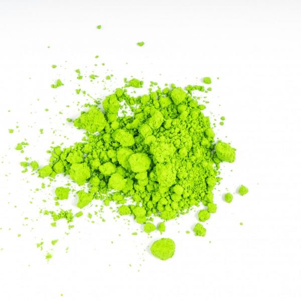 green-color-powder