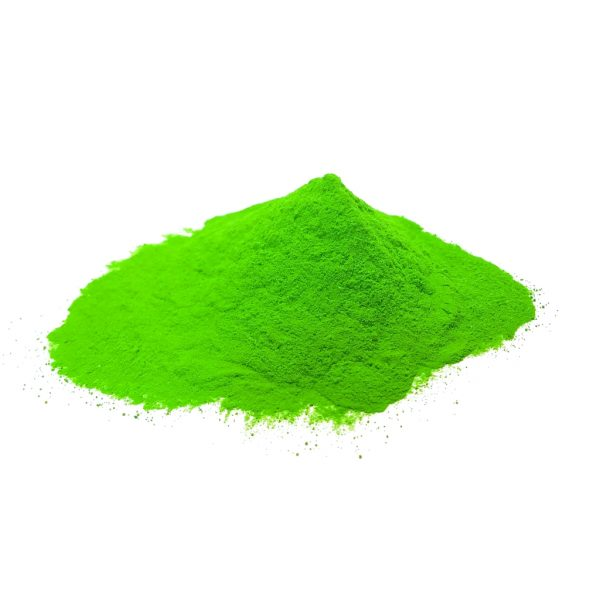 green-holi-color-powder