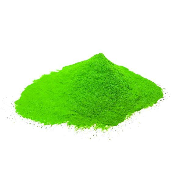Bulk Green Color Powder Photo