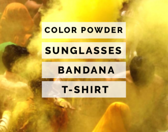 (Yellow) Color Race-Run Kits
