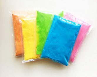 (50 Count) Color Powder Packets – Assorted Colors