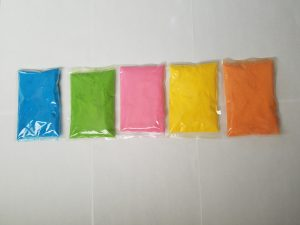 color-powder-packets
