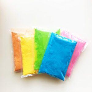 5 Color Sample Pack Color Powder