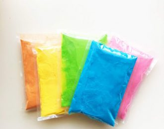 Free Sample of Holi Color Powder