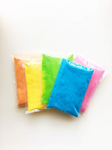 5 Color Sample Pack Color Powder
